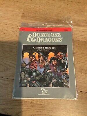 Queen's Harvest Adventure B12 - TSR 9261 - RARE - Dungeons And Dragons • 29.70£