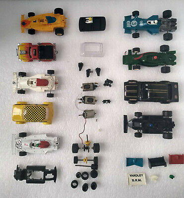 Vintage Scalextric Slot Cars/Shells  -  Jobs Lot (You Get What You See) • 20£