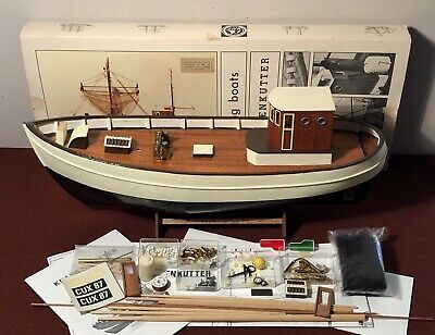 Vintage Krabbenkutter By Billing Boats – PART BUILT With All Parts To Complete. • 85£
