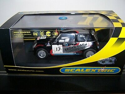 Scalextric C2565 Mini Cooper S Broad Oak #17 Lightly Used With Crack In Case • 5.61£