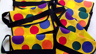 Bag Mr Tumble Childs Yellow Spotty Bag For Play Handmade Something Special Gift • 16£