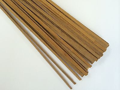 Walnut Model Ships Planking Strips - 50 X 1 Metre Lengths - Choice Of Sizes • 29.95£