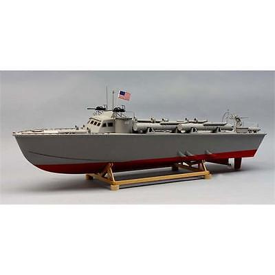 Dumas PT-212 Higgins MTB Preformed Hull Model Boat Kit 1257 • 209.99£