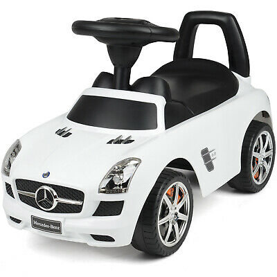 Mercedes Benz Ride On Car Kids Foot To Floor With Sound Effects Licensed Toy • 39.99£