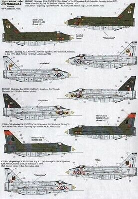 Xtradecal X72155 1/72 BAC/EE Lightning Model Decals • 8.29£