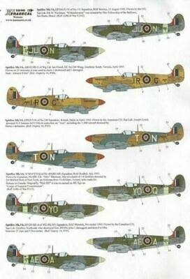 Xtradecal X32042 1/32 Supermarine Spitfire Mk.Vb Late Model Decals • 8.29£