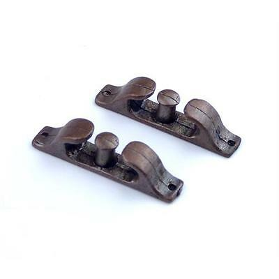 2 X Aero Naut Fairlead With Bollard 26mm Model Boat Fittings • 9.95£