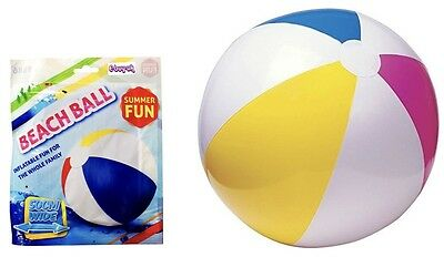 INFLATABLE BEACH BALL   ~ 50cm ~  PRICE IS FOR TWO !!! • 2.99£