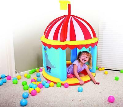 Bestway Inflatable Indoor Outdoor Fort Childrens Play Centre With PIT BALLS • 29.94£