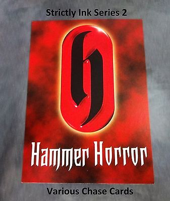 Hammer Horror Series 2 - Variety Autograph & Costume Chase Cards Strictly Ink • 9£
