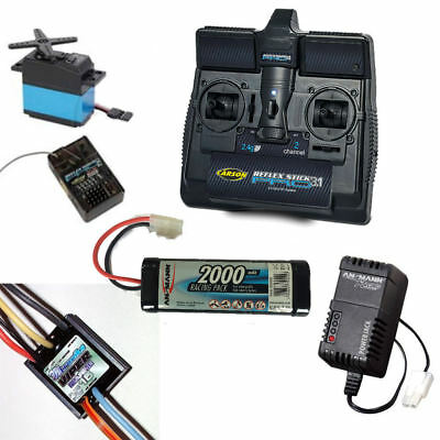 Radio Control Package For Model Boats 7.2v • 99.95£