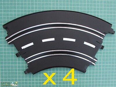 Artin 1:32 Slot Car Road Racing Track Curves X 4 Replace Upgrade Or Extend • 8.74£