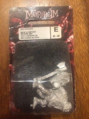 Mordheim Ogre Bodyguard Hired Sword Metal  Rare NIB Games Workshop OOP • 42£