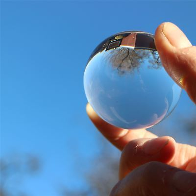 2 X 50mm Polished Clear Plastic Sphere Transparent Perspex Acrylic Spheres Balls • 22.99£