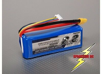 Turnigy 2200Mah 3s 11.1v 25c - 35c Lipo Pack - UK Seller - Fast Dispatch • 18.49£