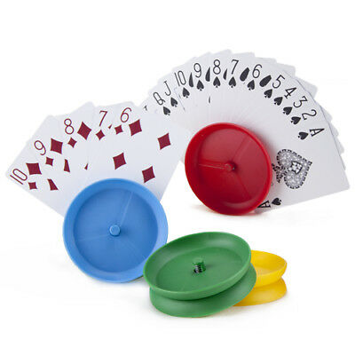 Single Playing Card Holder - Choose Colour From Red Blue Green Yellow • 5.99£