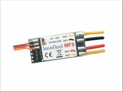 Servonaut MF8 Small Electronic Speed Controller Up To 8A • 29.95£