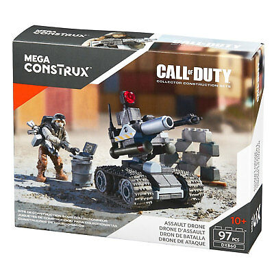 Mega Bloks Call Of Duty ASSAULT DRONE Collector Construction Set (DXB60) • 9.99£