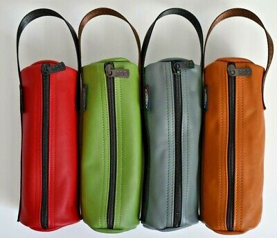 Obut Soft Leather Bags For 1 Set Of 3 Boules 4 Different Colours *DC Petanque* • 26.99£