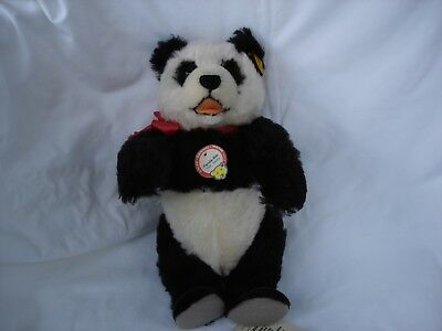 Steiff Panda Replica 1938, Yellow Tag 408304 • 75£