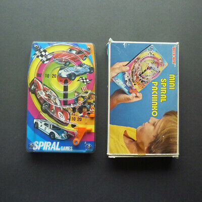 Vintage 'Blue Box' Sports & Racing Cars Pachinko Game. Boxed. C.1970 • 10£
