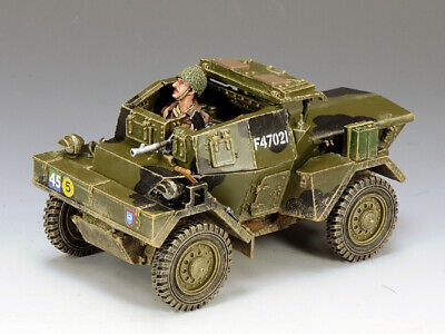 """KING AND COUNTRY  Dingo Armoured Car"""" Normandy Version WW2 DD163 • 169.95£"""