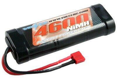 Voltz 4600mAh 7.2v NiMH Stick Pack With Deans T Connector • 30.49£