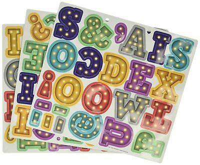 Kids Baby Learning Teaching MAGNETIC Toy Letters Numbers Fridge Magnets Alphabet • 2.92£