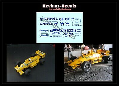 1/32 Scale Decals For Scalextric Lotus 99T (Camel) • 4£