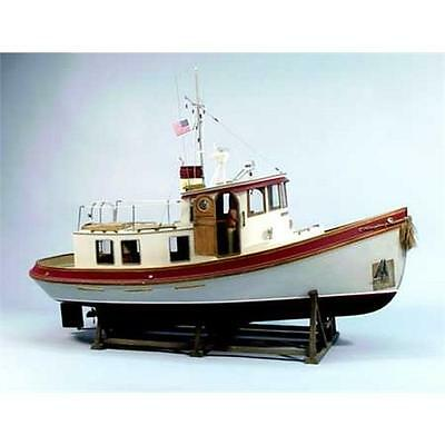 Dumas Lord Nelson Victory Tug 1:16 Scale Wooden Model Boat Kit • 340£