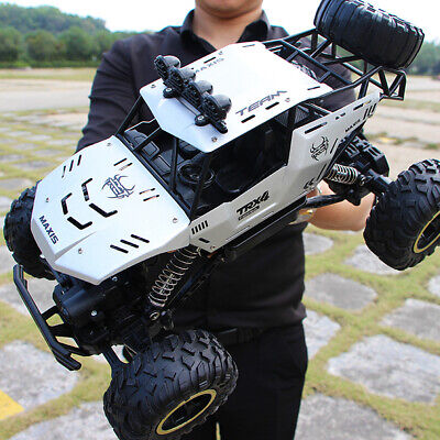 4WD RC Monster Truck Off-Road Vehicle 2.4G Remote Control Buggy Crawler Car UK • 48.99£