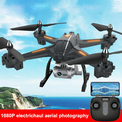 Drone X Pro 2.4G WIFI FPV 1080P HD Camera Dual RC Quadcopter Drone With Box Gift • 46.68£