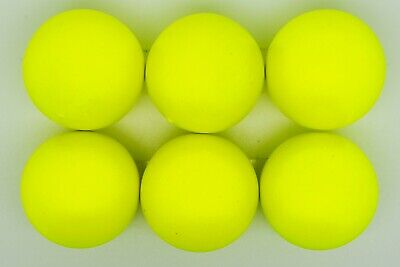 Yellow Matte Chip Less Coches For Petanque/Boules Different Quantitys Available  • 21£
