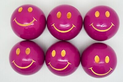 Purple Smiley Coches For Petanque/Boules Different Quantitys Available  • 12.99£