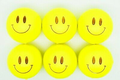 Yellow Smiley Coches For Petanque/Boules Different Quantitys Available  • 12.99£