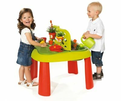 Smoby Kids Childrens Role Play Gardening Table Age 3 Yrs With Garden Accessories • 48.95£