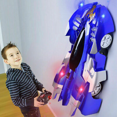 Powerful Wall Climbing Remote Control Racing Car Radio Controlled Stunt Kids Toy • 11.99£