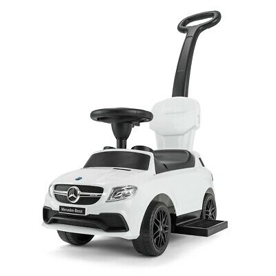 Mercedes Ride On Car 3 In 1 Push Along Baby Toddler Toy With Sounds RideStar • 59.99£