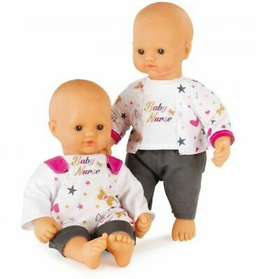 Smoby Baby Nurse Doll Childrens Soft Bodied Doll With Different Outfits • 19.95£