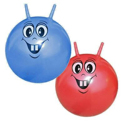 Kids Childrens Space Hopper Hop Bounce Jump Ball Fun Active Toy • 10.95£