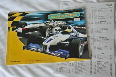Scalextric Catalogue Edition 43 With Price List 2002 EXCELLENT • 2.49£