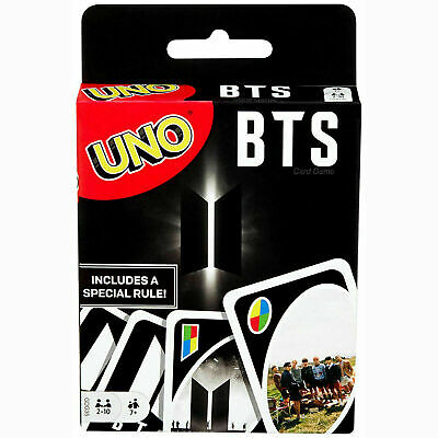Bts Official Mattel Uno Card Game, Brand New & Unopened From Uk Cheapest • 5.99£