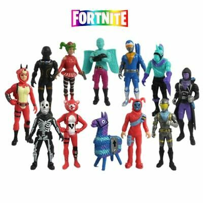 New 12pcs Fortnite Battle Royale Action Figures Kids Toy Collection Xma2 Gift UK • 12.99£