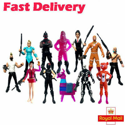 12Pcs NEW Fortnite Battle Royale Action Figures Save The World Kids TOYS GIFTS • 12.99£