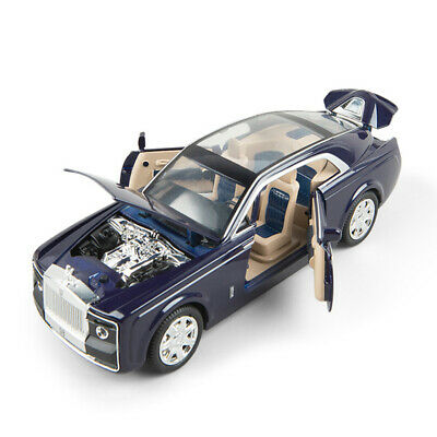 1:24 Scale Rolls-Royce Sweptail Diecast Model Car Toy Collection Limousine Sound • 19.99£