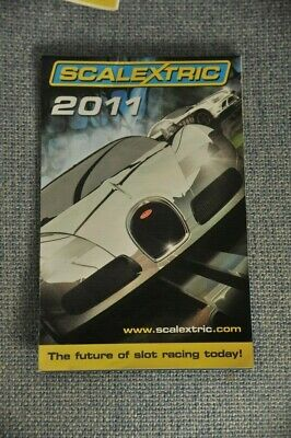 Scalextric 2011 Catalogue 52nd Edition EXCELLENT • 2.99£