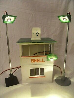 Scalextric Tri-ang A240 Vintage 1960's Track Spot Lights Reproduction With LED. • 12.95£