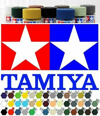 Tamiya Acrylic Paint All X And XF Colours. 10ml - ONE POSTAGE, UNLIMITED AMOUNT! • 2.99£