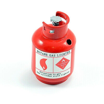 Fastrax Scale Painted Alloy Gas Bottle Red • 13.98£