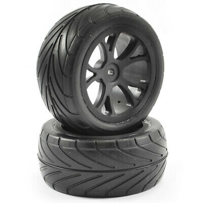 Fastrax 1/10th Mounted Arrow Buggy Rear Tyres 10-spoke • 13.48£